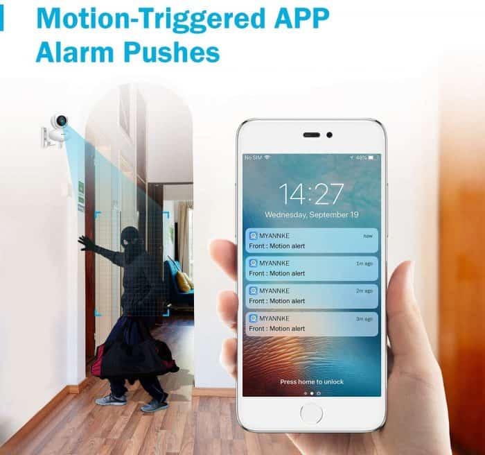 Motion Alert Push Notifications